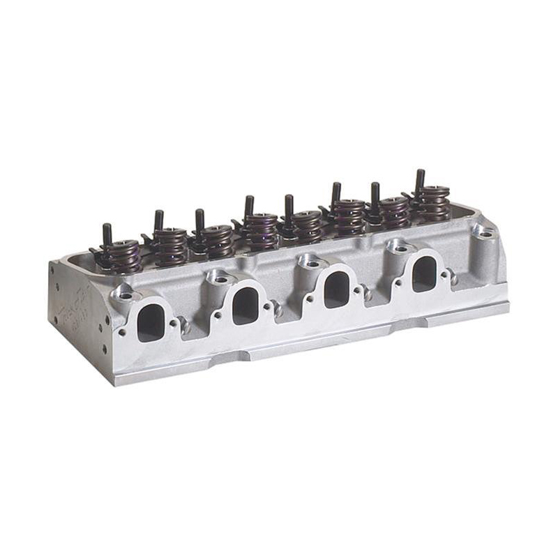 Trick Flow TFS-5341T010-C01 Cylinder Head, Power Port, Assembled, 2.225 / 1.760 in Valves, 325 cc Intake, 78 cc Chamber, 1.640 in Springs, Aluminum, Big Block Ford, Each