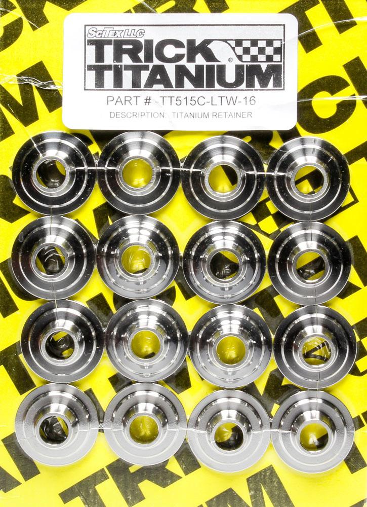 1.450 CNC Titanium Valve Spring Retainers