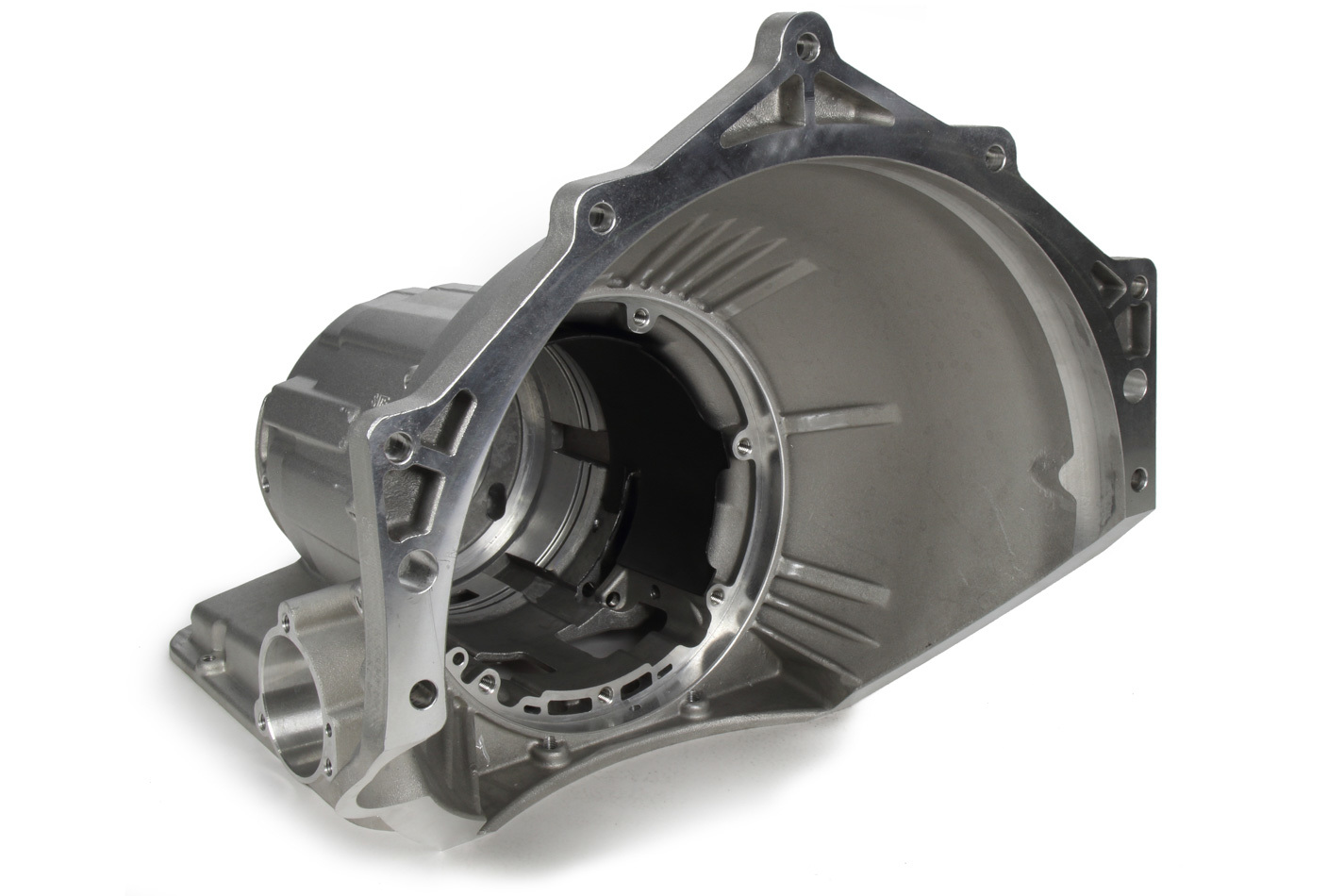 Transmission Specialities 2505 Transmission Case, SFI Approved, Bellhousing, Aluminum, Natural, Powerglide, Chevy V8, Kit