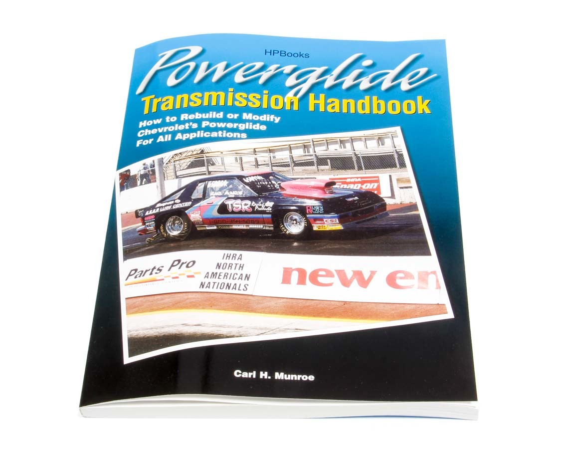 TSR Racing Products APG-1355 Book, Powerglide Transmission Handbook, 234 Pages, Paperback, Each