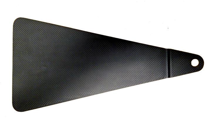 Triple X Race Components SC-SU-3894CF Jacobs Ladder Cover, Carbon Fiber, Each