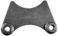 U-B Machine 12-0420 Brake Caliper Bracket, Rear, Weld-On, 3 in OD Axle Tube, Steel, Natural, Superlite Caliper, Each