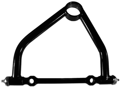 U-B Machine 19-0829-6L Control Arm, 19 Series, Tubular, Upper, 8.500 in Long, 1-1/2 in Offset, Screw-In Ball Joint, Steel, Black Powder Coat, Universal, Each