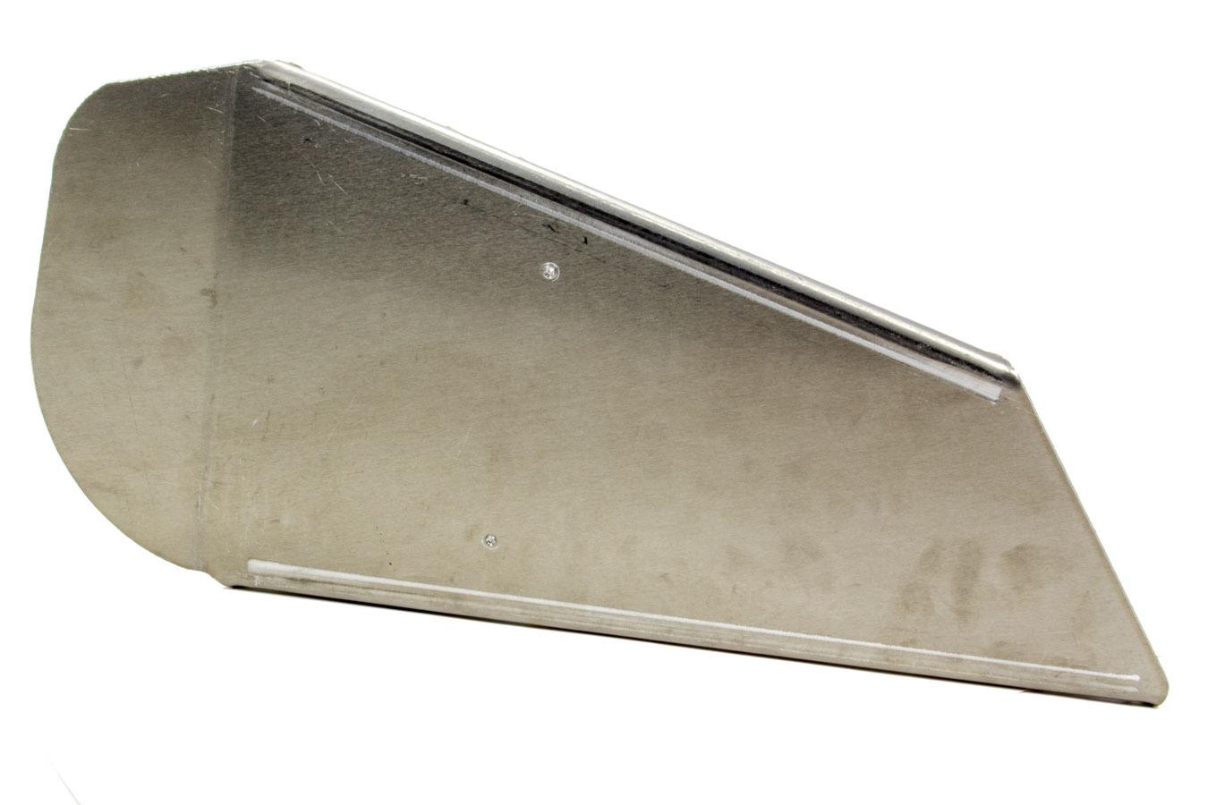 Ultra Shield 91040 Leg Support, Adult, Right, Aluminum, Natural, Ultrashield Seats, Each