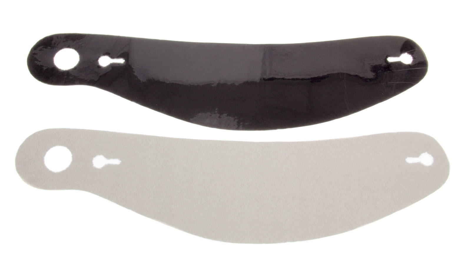 Ultra Shield S22 Helmet Shield Tear Off, 2 mm Thick, 12-3/8 in Center to Center, Curved, Plastic, Smoked, Bell 281/288, Set of 5