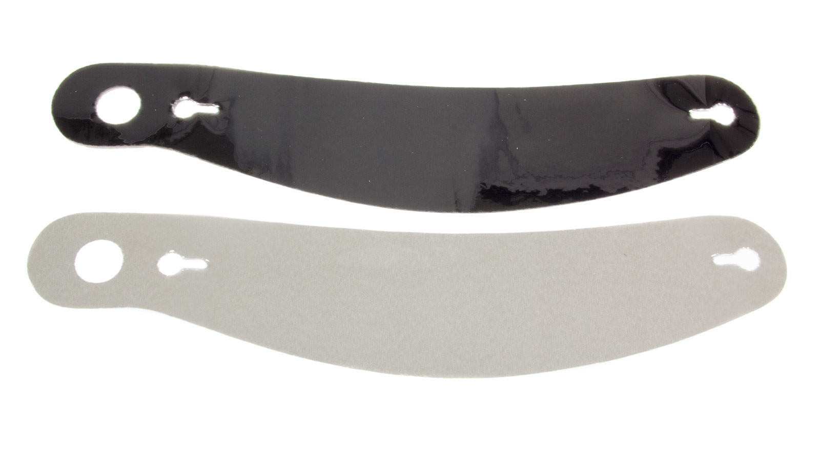 Ultra Shield S24 Helmet Shield Tear Off, 2 mm Thick, 12-1/4 in Center to Center, Curved, Plastic, Smoked, Bell 276, Set of 5