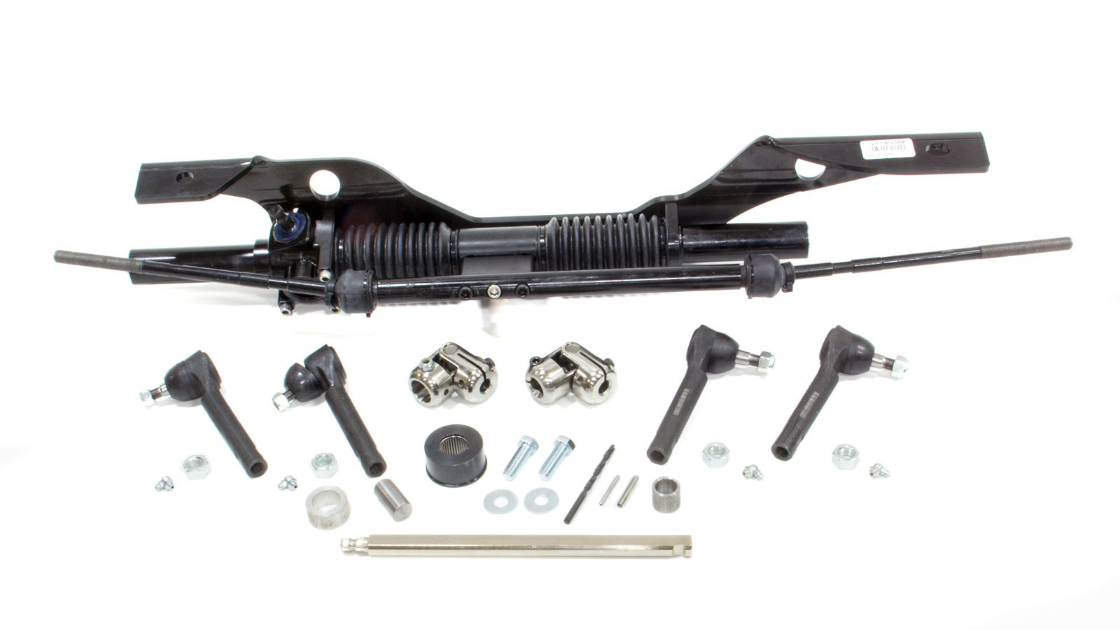 Unisteer Performance Products 8001090-01 Rack and Pinion, Manual, Aluminum, Black Powder Coat, Ford Mustang 1967-70, Kit