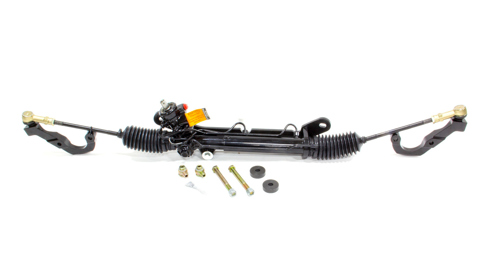 Unisteer Performance Products 8010540-01 Rack and Pinion, Power, Aluminum, Black Powder Coat, Chevy Camaro 1967-69, Kit