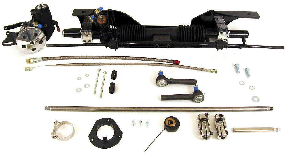 Power Rack & Pinion - 65-66 Mustang