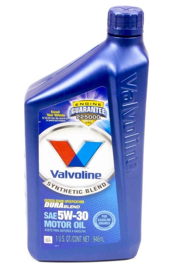 5W30 Durablend Oil Qt. Valvoline