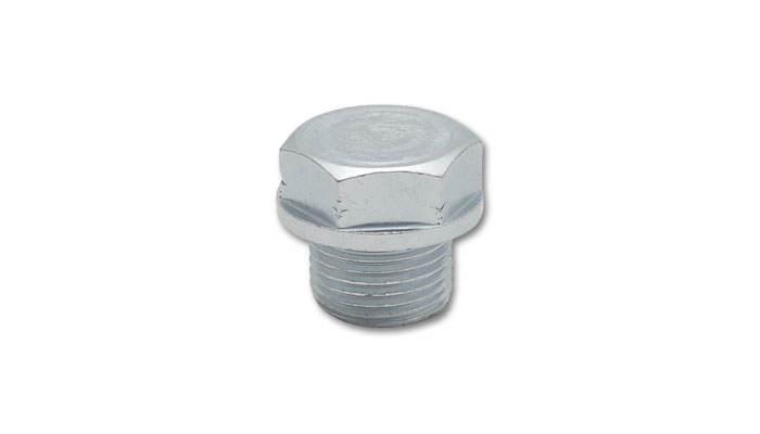 Vibrant Performance 1195 Oxygen Sensor Plug, 18 mm x 1.50 Male Thread, Hex Head, Steel, Zinc Oxide, Set of 5