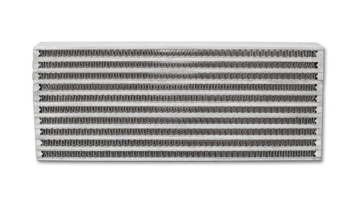 Vibrant Performance 12893 Fluid Cooler Core, 4 x 10 x 1-1/4 in, Plate and Fin Type, Aluminum, Natural, Each