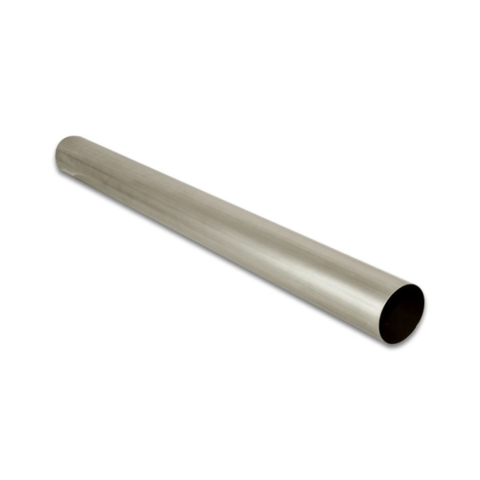 Vibrant Performance 13374 Exhaust Pipe, Straight, 3 in Diameter, 39.40 in Long, Titanium, Natural, Each