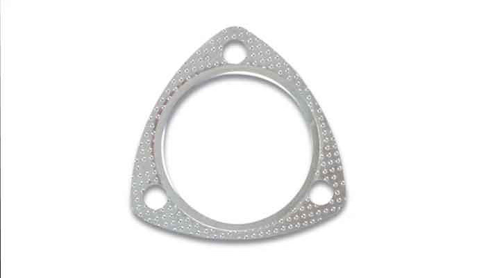 Vibrant Performance 1464 Collector Gasket, 3-1/2 in Diameter, 3-Bolt, Graphite, Each