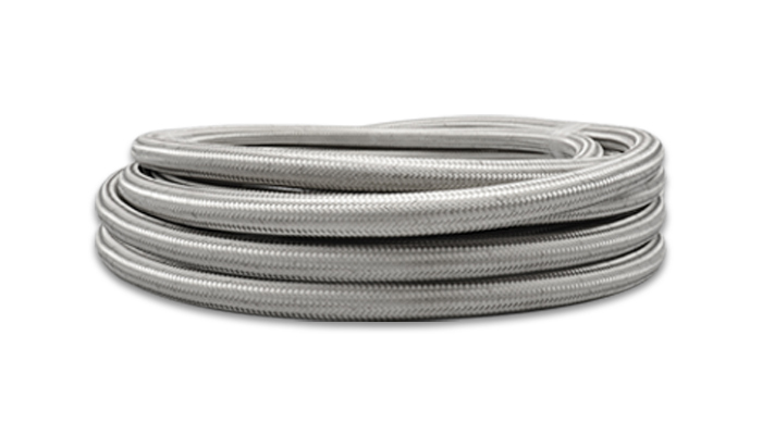 Vibrant Performance 18414 Hose PTFE Lined Braided Stainless -4AN x 10ft