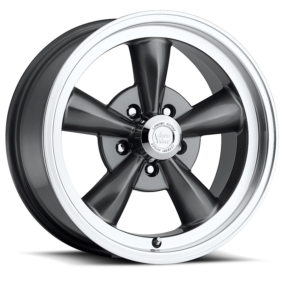 Wheel 15X8 5-4.75 Gunmet al Legend 5