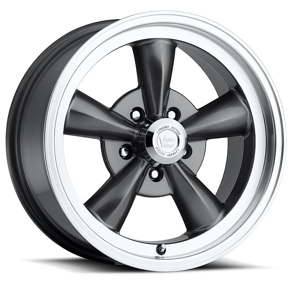 Wheel 15X8 5-5 Gunmetal Vision Legend 5