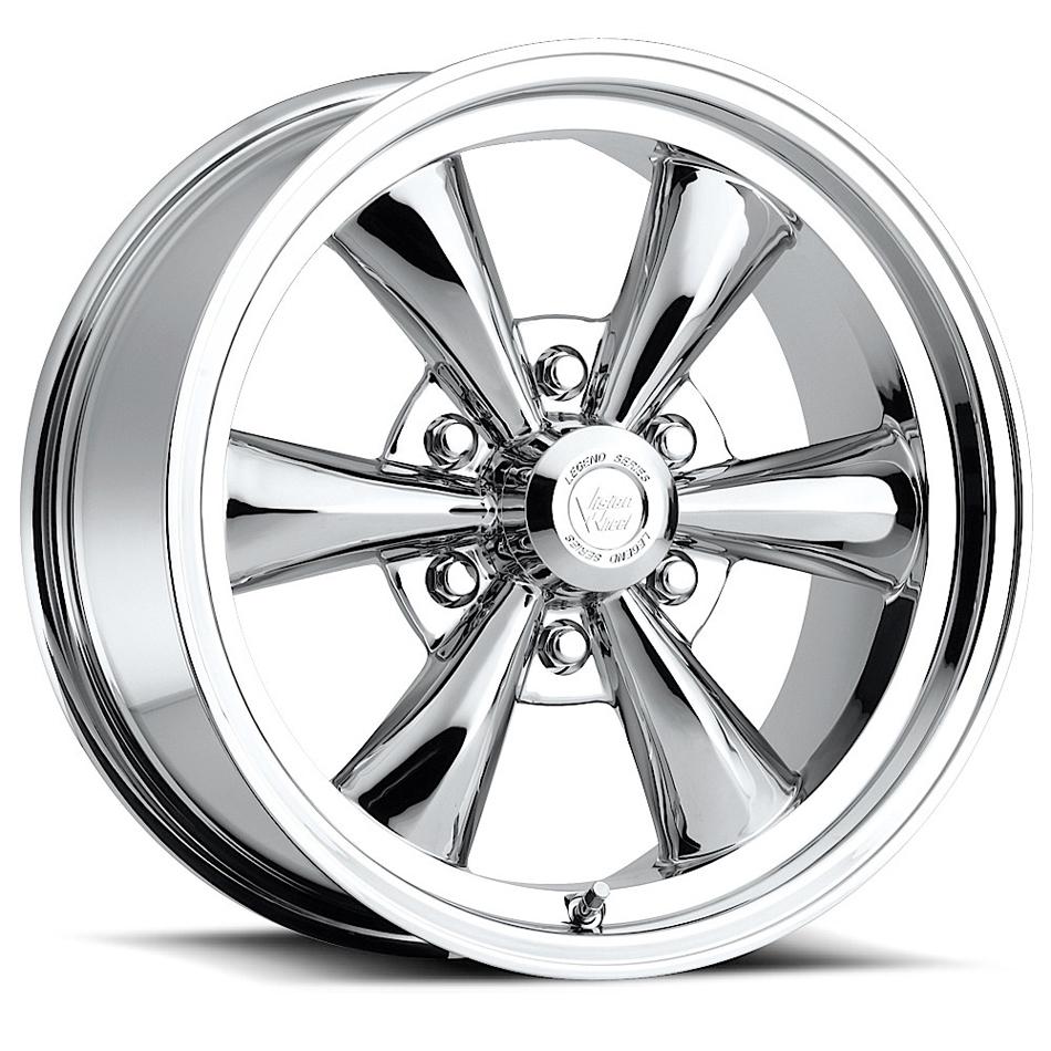 Wheel 17X8 6-5.50 Chrome Legend 6 Vision