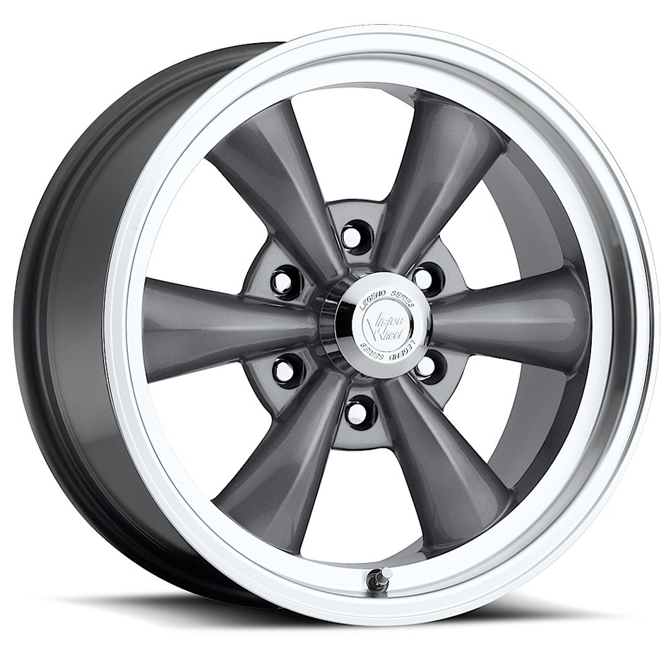 Wheel 17X8 6-5.5 Gunmeta l Vision Legend 6