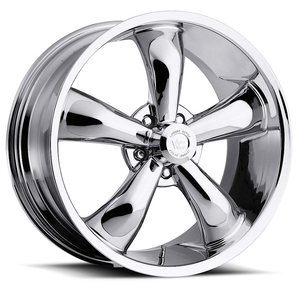 Wheel 20X9 6-139.7/5.5 C hrome Vision Legend 5