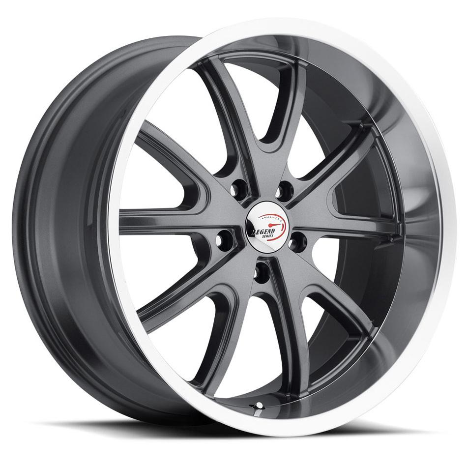 Wheel 18X8.5 5-120.65/4. 75 Gunmetal Vision Torq