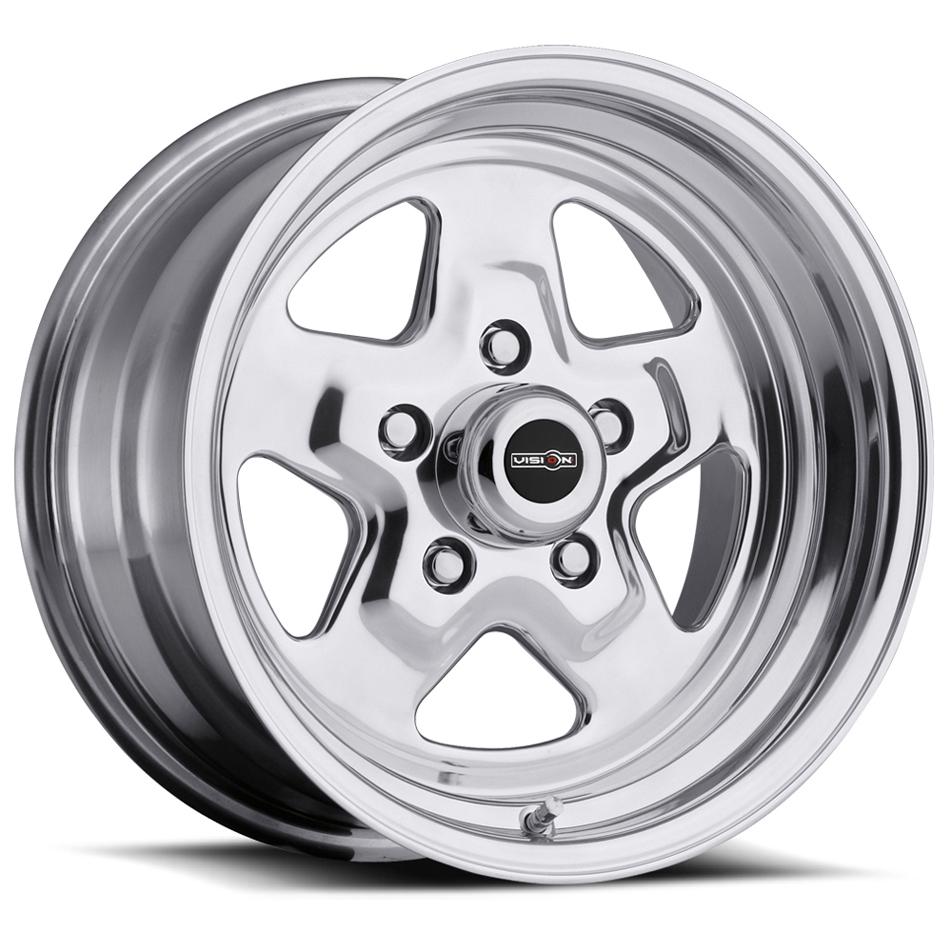 Wheel 15X10 5-114.3/4.5 Polished Vision Nitro
