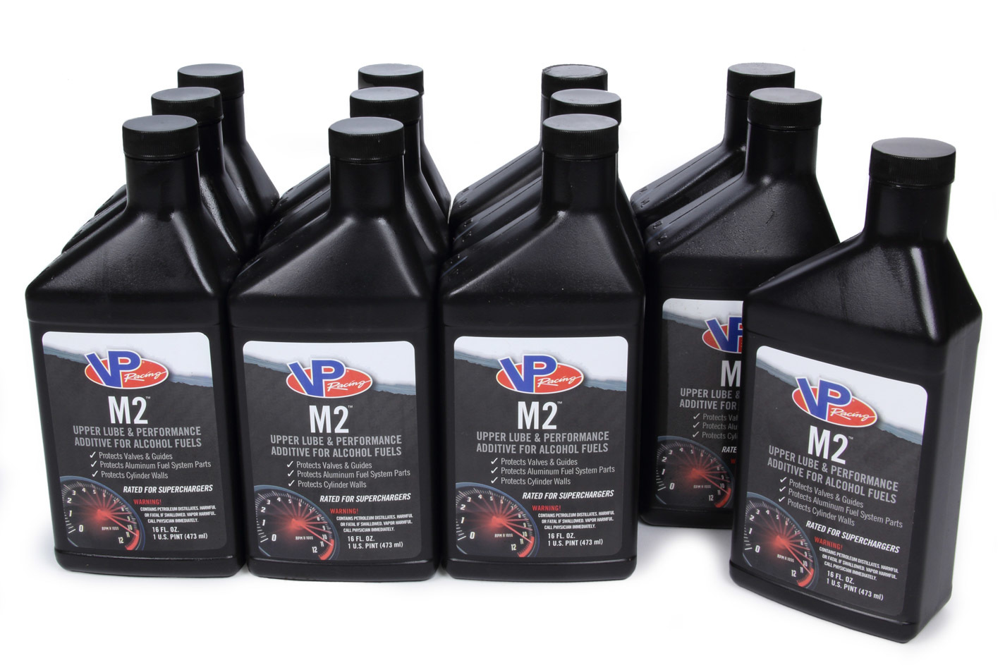 VP Fuel Containers 2019 Fuel Additive, Upper Cylinder Lube, Lubricant, 16.00 oz Bottle, Ethanol / Methanol, Set of 12