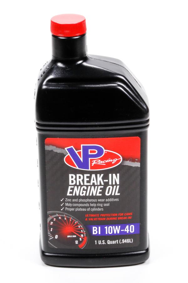 VP Fuel Containers 2415 Motor Oil, Break-In, High Zinc, 10W40, Conventional, 1 qt Bottle, Each