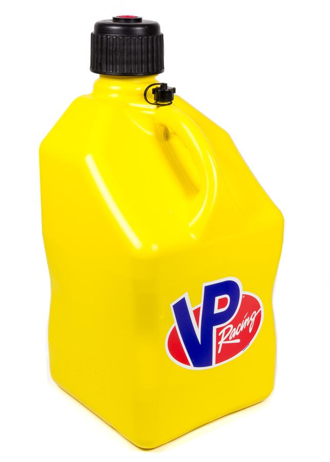 Utility Jug 5 Gal Yellow Square