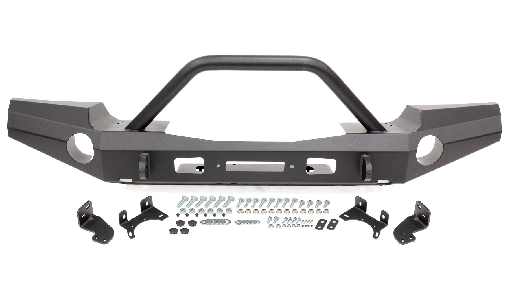 18- Jeep JL Full Front Bumper w/Grille Guard