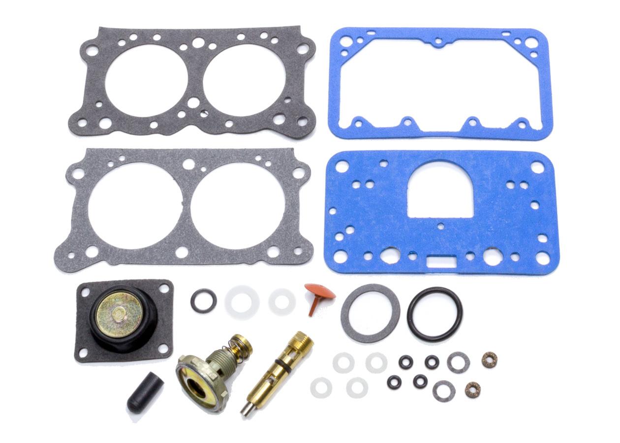 Willys Carb KIT-2A Carburetor Rebuild Kit, Master, Willy's 2-Barrel 350 to 500 CFM Carburetors, Alcohol, Kit