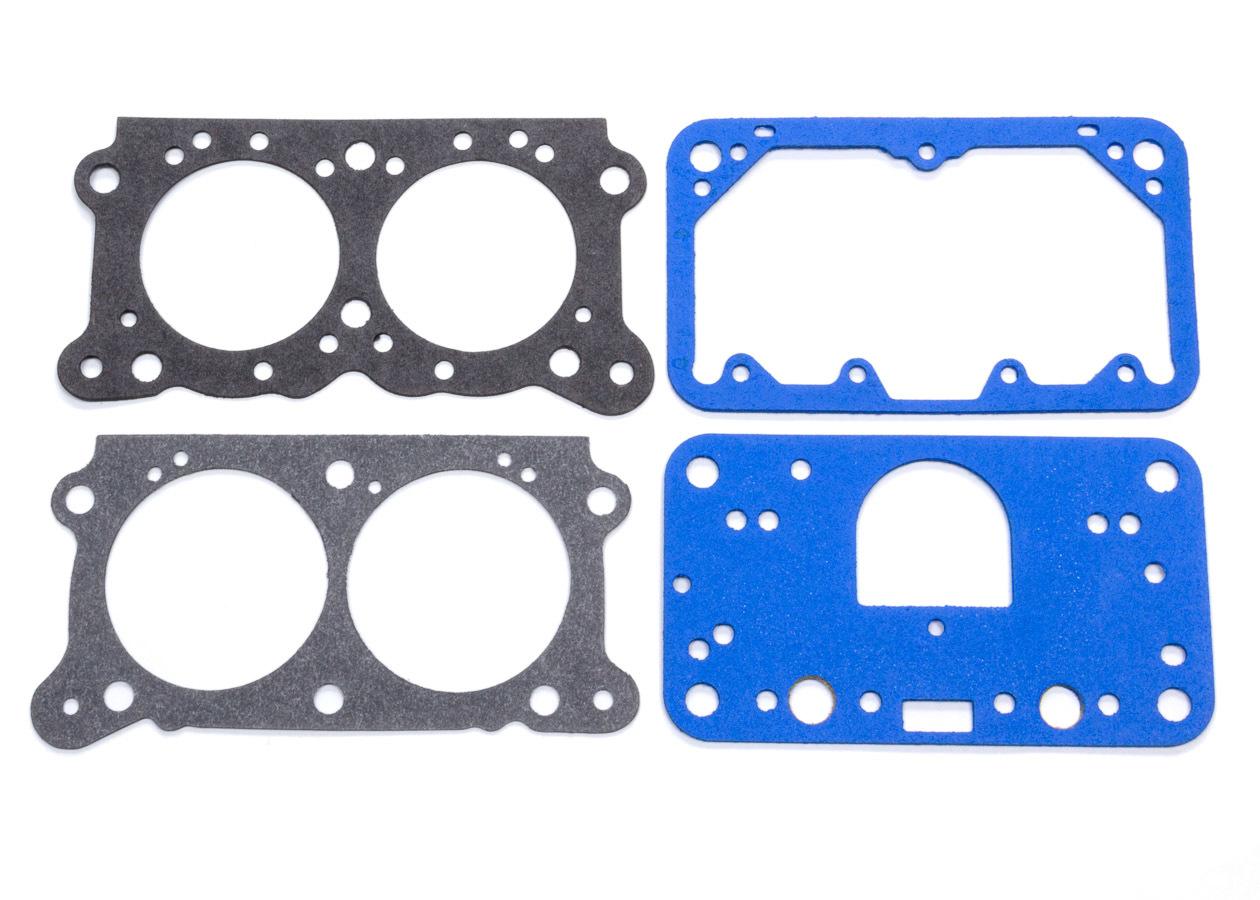 Willys Carb KIT-GASKET2 Carburetor Gaskets, Composite, Base/Float Bowl Gaskets/Metering Block, Willys Carb 2-Barrel Carburetor, Kit
