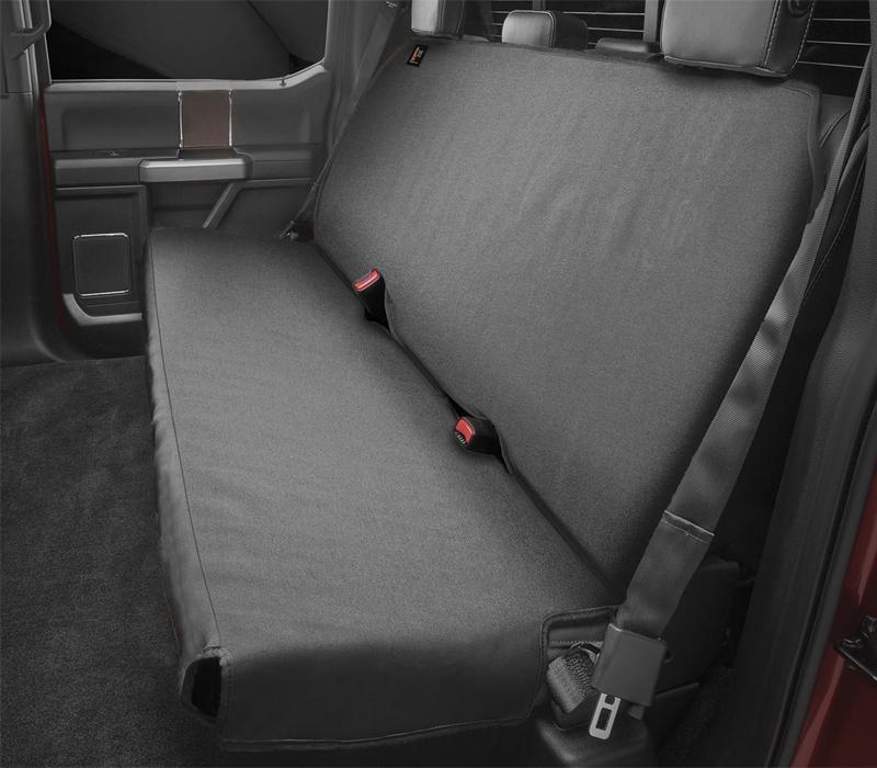 WEATHERTECH Black Seat Protector Uni versal P/N -DE2020CH