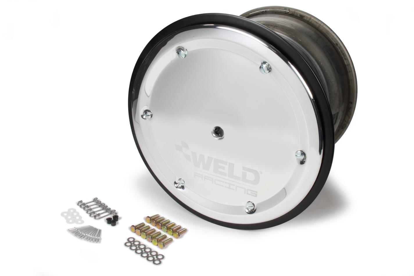 WELD RACING 15 X 12 Wide 5 XL 5in BS Bead-Loc w/Cvr P/N -559-5255M-6