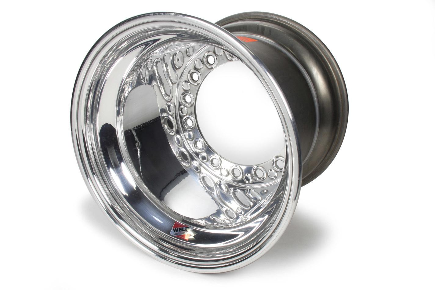 Weld Wheels 559-5313 Wheel, Wide 5 XL, 15 x 13 in, 3.000 in Backspace, Wide 5 Bolt Pattern, Aluminum, Polished, Each