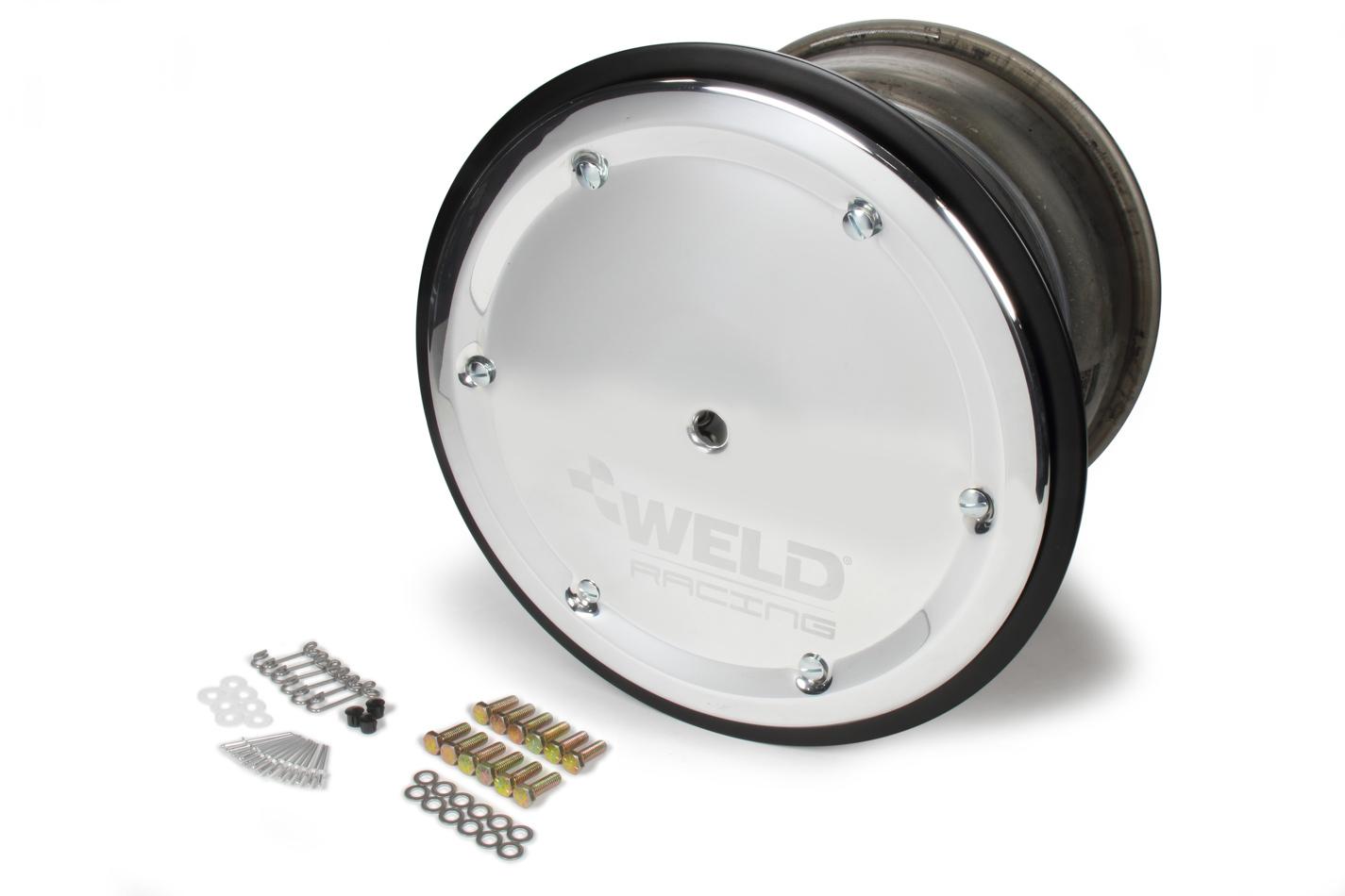 WELD RACING 15 X 13 Wide 5 XL 5in BS Bead-Loc w/Cover P/N -559-5355M-6