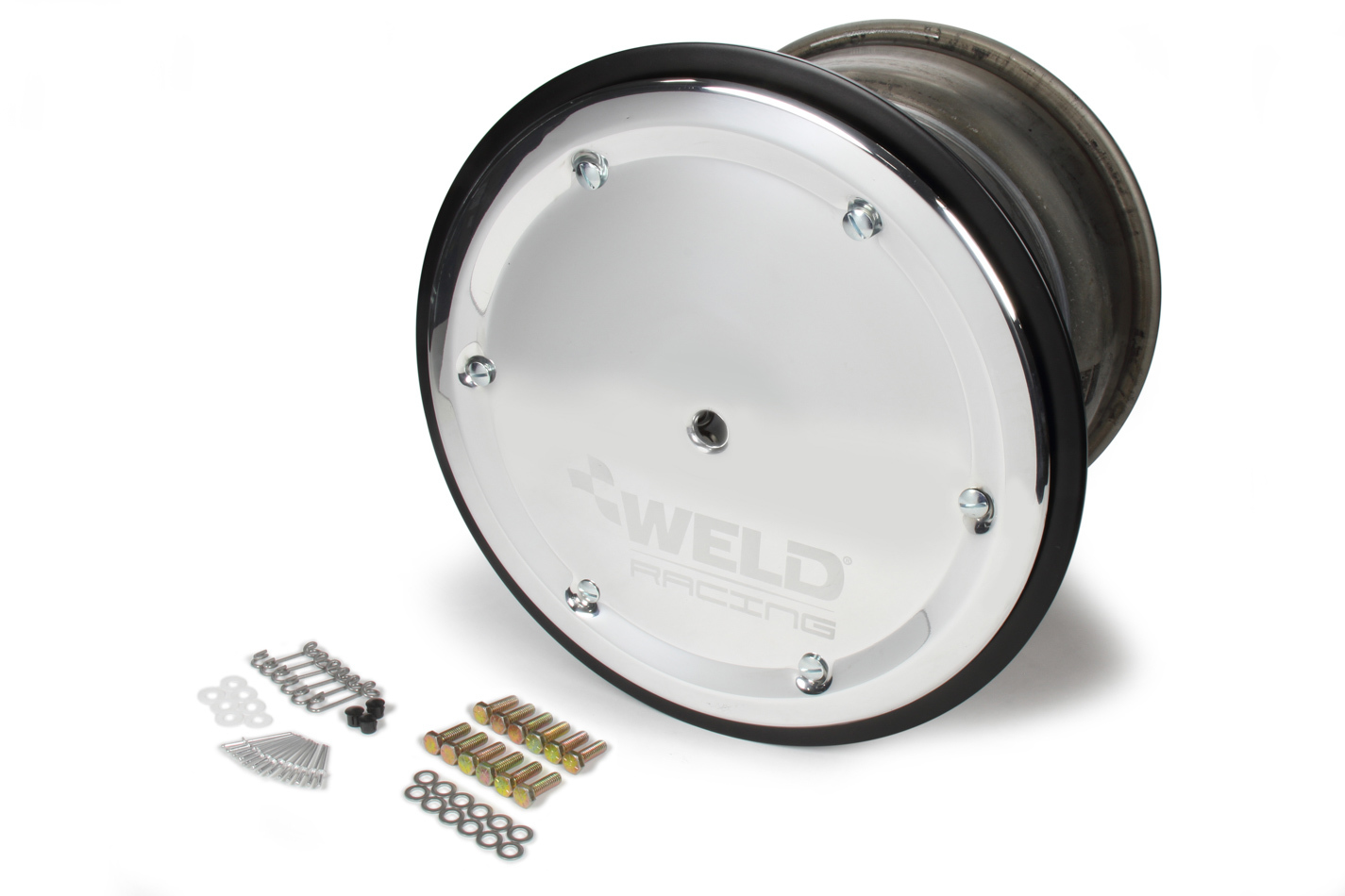 WELD RACING 15 X 14 Wide 5 XL 5in BS Bead-Loc w/Cvr P/N - 559-5455M-6