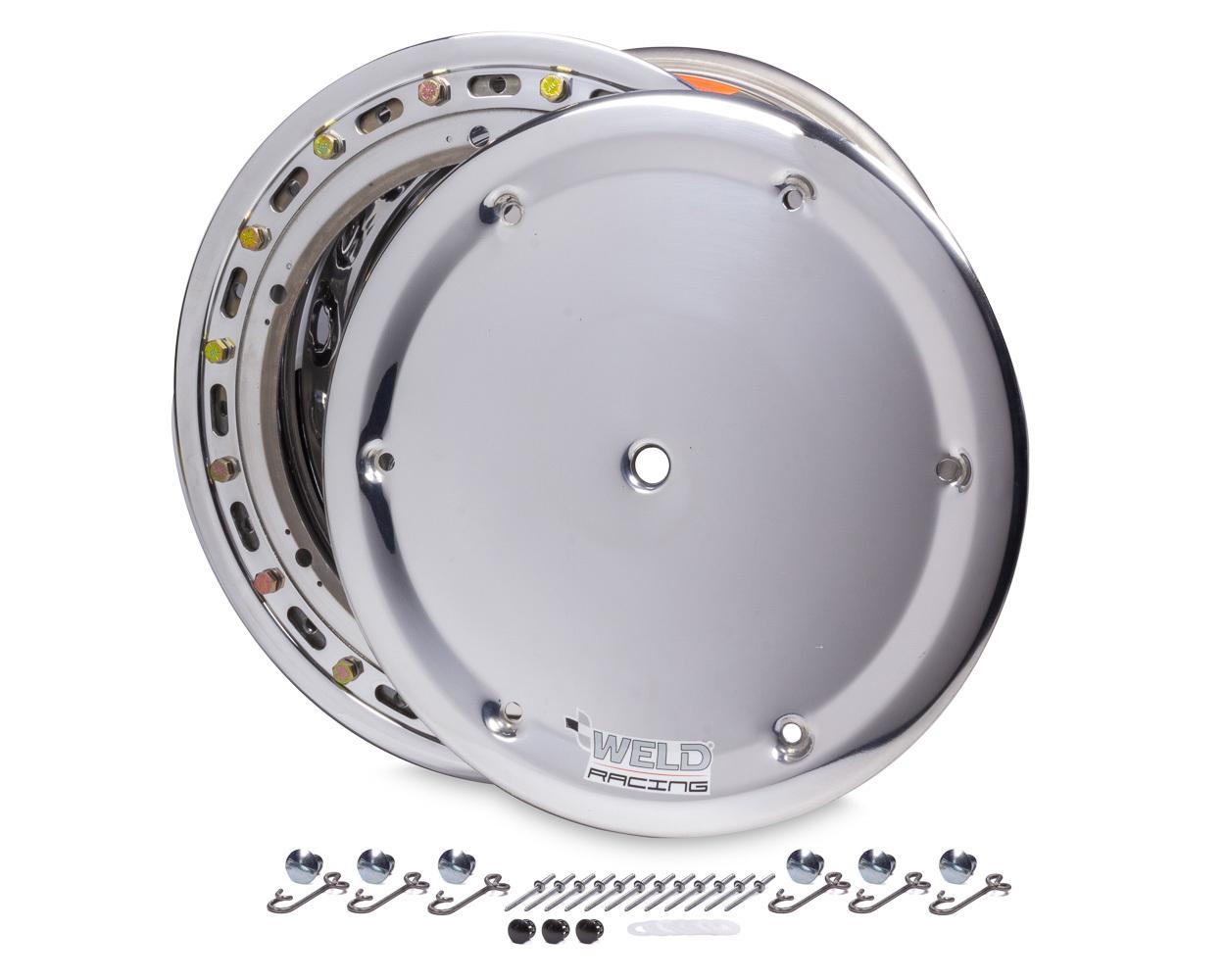 WELD RACING 15x10 Wide 5 HS 5in BS Bead-Loc w/Cover P/N - 570-5055-6