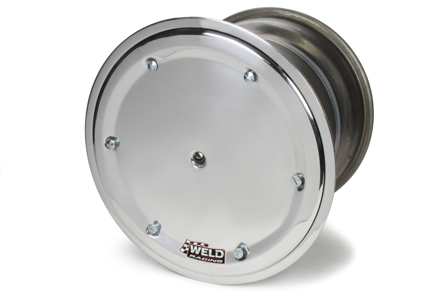 WELD RACING 15 X 14 Wide 5 HS 5in BS Bead-Loc 17.5 w/Cvr P/N - 571-5455-6