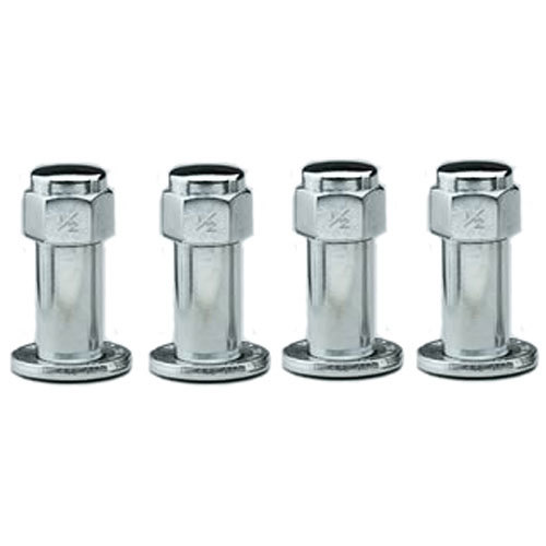 1/2in RH Lug Nuts w/Centered Washers (4pk)