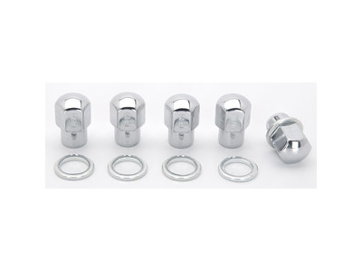 Lug Nuts 1/2 RH Closed End w/Washers (5pk)