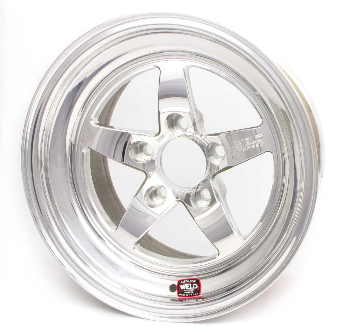 15x6.83 RT-S Wheel 5x4.75 BC 4.5 BS Pol
