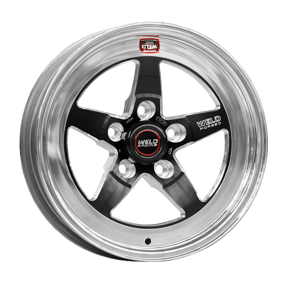 15x8.275 RT-S Wheel 5x4.75 BC 3.5 BS Black