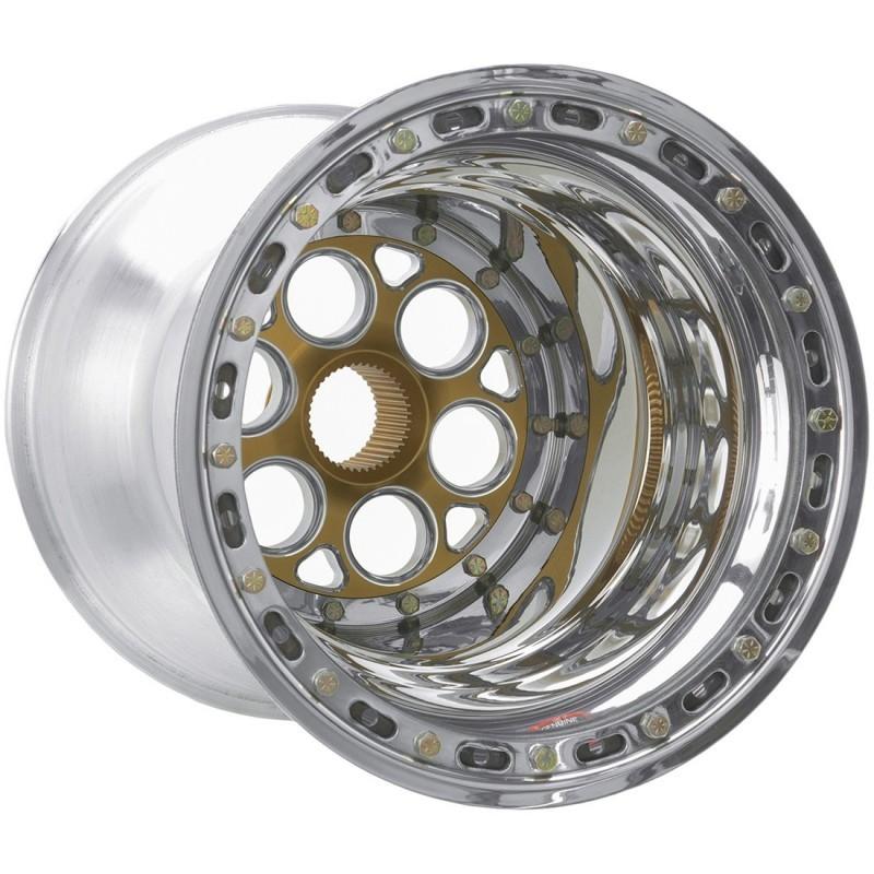 WELD RACING 15x17 42 Spline 7in BS Bead-Loc w/Cover P/N - 735-51757-6