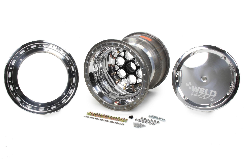 WELD RACING 15x16 42 Spline 6in BS Bead-Loc w/Cover P/N - 735B-51656-6
