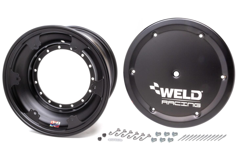 WELD RACING 15x8 Wheel Direct Mount 4in BS w/Cover Non-loc P/N - 860B-50804-6