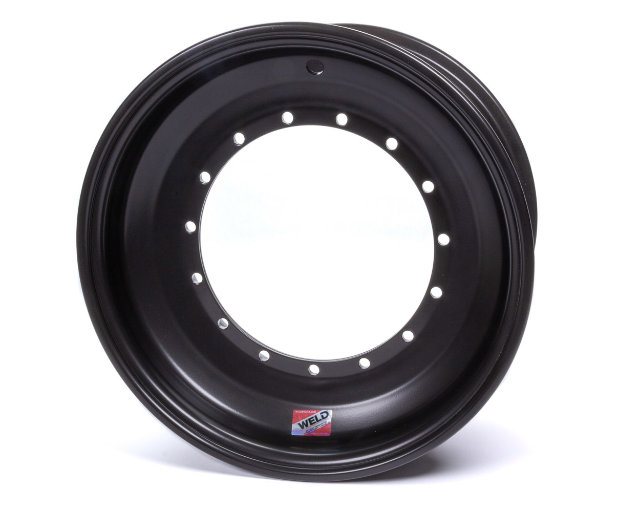 WELD RACING 15x8 5in BS Direct Mount No Cover All Black P/N - 860B-50815