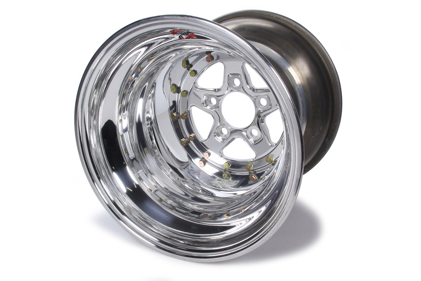 WELD RACING 15 X 15in Aluma Star 5 X 4.75in 6-3/8in BS P/N - 88-515282