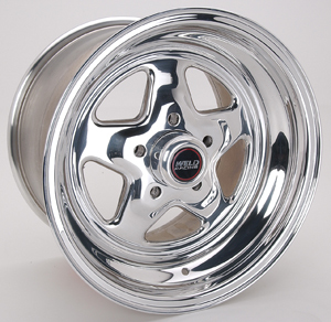 Weld Racing 15 X 10in. Pro Star 5 X 4.5in. 6.5in. BS