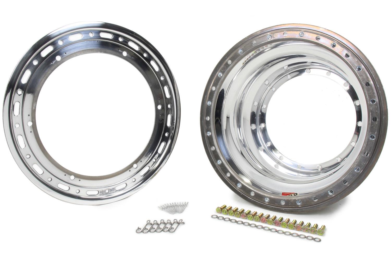 WELD RACING Outer Wheel Half 15x9.25 Bead-Loc w/Dzus No Cover P/N - P857-5944-6